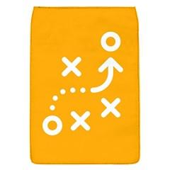 Sign Yellow Strategic Simplicity Round Times Flap Covers (S)