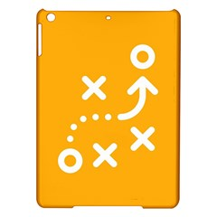 Sign Yellow Strategic Simplicity Round Times iPad Air Hardshell Cases