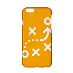 Sign Yellow Strategic Simplicity Round Times Apple iPhone 6/6S Hardshell Case