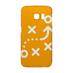 Sign Yellow Strategic Simplicity Round Times Galaxy S6 Edge