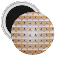 Pattern Retro Background Texture 3  Magnets
