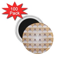 Pattern Retro Background Texture 1.75  Magnets (100 pack)