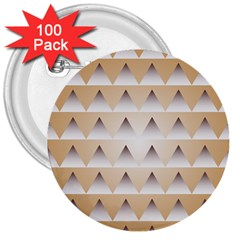 Pattern Retro Background Texture 3  Buttons (100 pack)
