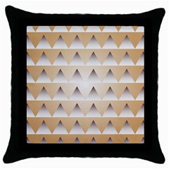 Pattern Retro Background Texture Throw Pillow Case (Black)