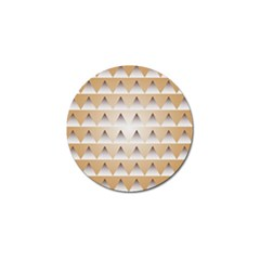 Pattern Retro Background Texture Golf Ball Marker