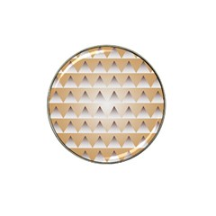 Pattern Retro Background Texture Hat Clip Ball Marker (4 pack)