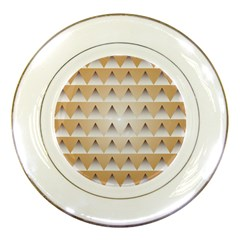 Pattern Retro Background Texture Porcelain Plates
