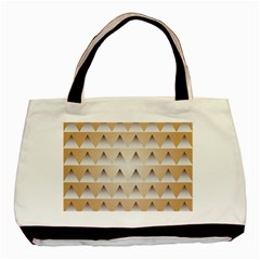 Pattern Retro Background Texture Basic Tote Bag (Two Sides)