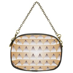 Pattern Retro Background Texture Chain Purses (One Side)