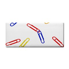 Scattered Colorful Paper Clips Cosmetic Storage Cases