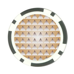 Pattern Retro Background Texture Poker Chip Card Guard (10 pack)