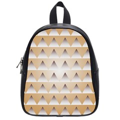 Pattern Retro Background Texture School Bags (Small)
