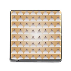 Pattern Retro Background Texture Memory Card Reader (Square)