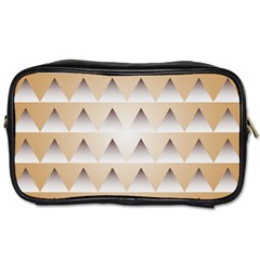 Pattern Retro Background Texture Toiletries Bags 2-Side