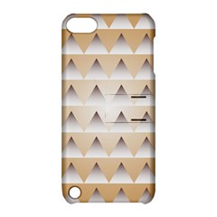 Pattern Retro Background Texture Apple iPod Touch 5 Hardshell Case with Stand