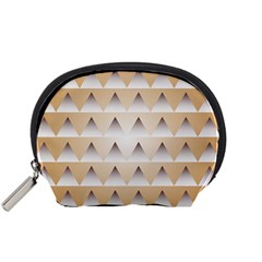 Pattern Retro Background Texture Accessory Pouches (Small)