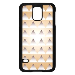 Pattern Retro Background Texture Samsung Galaxy S5 Case (black)