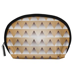 Pattern Retro Background Texture Accessory Pouches (Large)