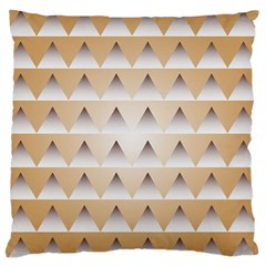 Pattern Retro Background Texture Large Flano Cushion Case (Two Sides)