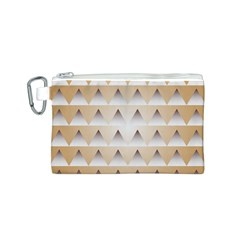 Pattern Retro Background Texture Canvas Cosmetic Bag (S)