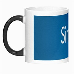 Simple Feature Blue Morph Mugs