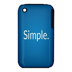 Simple Feature Blue iPhone 3S/3GS