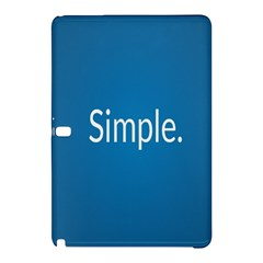 Simple Feature Blue Samsung Galaxy Tab Pro 12.2 Hardshell Case
