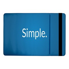 Simple Feature Blue Samsung Galaxy Tab Pro 10.1  Flip Case