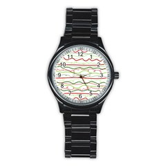 Rope Pitha Stainless Steel Round Watch