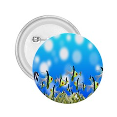 Pisces Underwater World Fairy Tale 2.25  Buttons