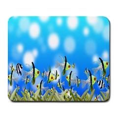 Pisces Underwater World Fairy Tale Large Mousepads