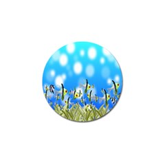 Pisces Underwater World Fairy Tale Golf Ball Marker (10 pack)