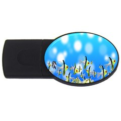 Pisces Underwater World Fairy Tale USB Flash Drive Oval (1 GB)