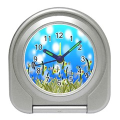 Pisces Underwater World Fairy Tale Travel Alarm Clocks