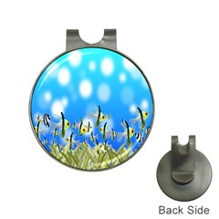 Pisces Underwater World Fairy Tale Hat Clips with Golf Markers