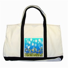 Pisces Underwater World Fairy Tale Two Tone Tote Bag