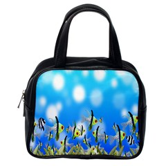 Pisces Underwater World Fairy Tale Classic Handbags (One Side)