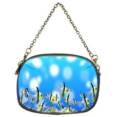 Pisces Underwater World Fairy Tale Chain Purses (One Side)