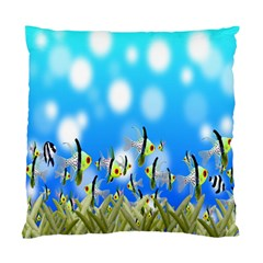 Pisces Underwater World Fairy Tale Standard Cushion Case (Two Sides)