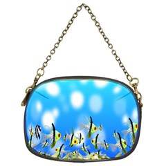 Pisces Underwater World Fairy Tale Chain Purses (Two Sides)