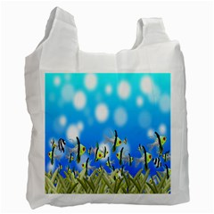 Pisces Underwater World Fairy Tale Recycle Bag (Two Side)