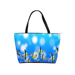 Pisces Underwater World Fairy Tale Shoulder Handbags