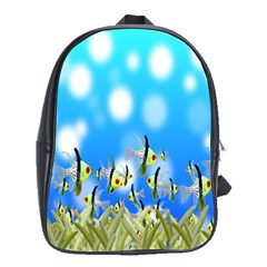Pisces Underwater World Fairy Tale School Bags(Large)