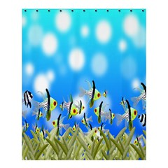Pisces Underwater World Fairy Tale Shower Curtain 60  x 72  (Medium)