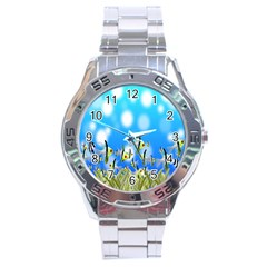 Pisces Underwater World Fairy Tale Stainless Steel Analogue Watch