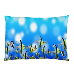 Pisces Underwater World Fairy Tale Pillow Case (Two Sides)