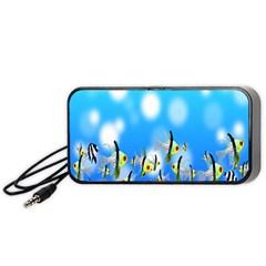 Pisces Underwater World Fairy Tale Portable Speaker (Black)