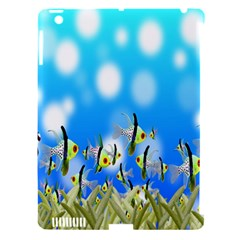 Pisces Underwater World Fairy Tale Apple iPad 3/4 Hardshell Case (Compatible with Smart Cover)