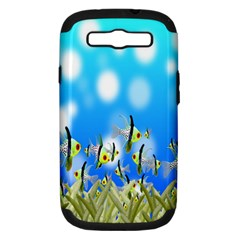 Pisces Underwater World Fairy Tale Samsung Galaxy S Iii Hardshell Case (pc+silicone)