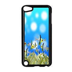 Pisces Underwater World Fairy Tale Apple iPod Touch 5 Case (Black)